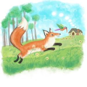 Fox&Hummingbird1
