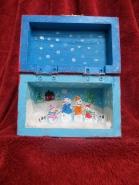 Inside of Family Box I made