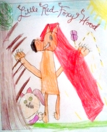 I love it. Little Red Foxy Hood better watch out.