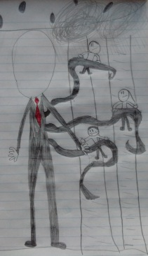 Derek's Second Slenderman-he liked mine