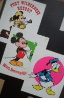 Disney - Not sure how I got these - Didn't go there until 1993.