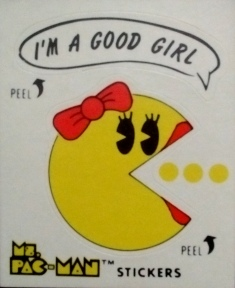 Pac man girl