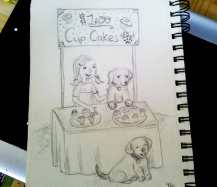 #cupcakes and puppies